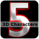 3D Characters - GraphicRiver Item for Sale