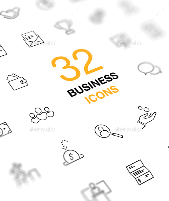 Business Icons From Graphicriver