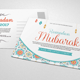 Ramadan & Eid Mubarak Greeting Card - GraphicRiver Item for Sale