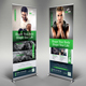 Fitness Roll Up Banner Templates - GraphicRiver Item for Sale