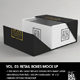 Retail Boxes Vol.3: Fold Up Box Packaging Mock Ups - GraphicRiver Item for Sale