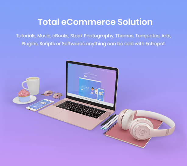 AuthorLand - Digital Marketplace eCommerce Template - 3