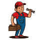 Handyman Services Logo Template - GraphicRiver Item for Sale
