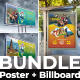 Travel Bundle (Poster+Billboard) - GraphicRiver Item for Sale