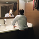 Business Man Shaving In Office Bathroom After Early Morning Commute - PhotoDune Item for Sale