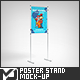 Simple Poster Stand / Board Mock-Up - GraphicRiver Item for Sale