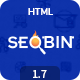 SeoBin | Digital Marketing Agency, SEO HTML Template - ThemeForest Item for Sale