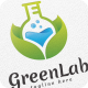 Green Lab - Logo Template - GraphicRiver Item for Sale