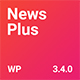 NewsPlus - News and Magazine WordPress theme - ThemeForest Item for Sale