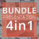 4in1 Bundle Powerpoint - GraphicRiver Item for Sale