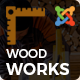 Wood Works - Renovation Services, Carpenter and Craftsman Business Joomla Theme