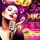 Karaoke Night Party Flyer - GraphicRiver Item for Sale