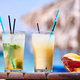 Two cocktails at tropical beach - PhotoDune Item for Sale