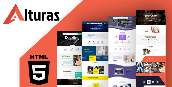 Alturas Multipurpose HTML Template