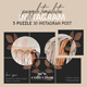 Instagram Puzzle Templates - Fashion - GraphicRiver Item for Sale