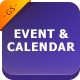 Event & Calendar GGS Template - GraphicRiver Item for Sale