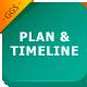 Tables, Plan & Timeline Google Slides Template - GraphicRiver Item for Sale