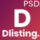 dListing - Directory Listing PSD Template - ThemeForest Item for Sale
