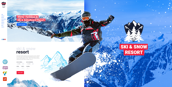 Snow Club | Ski Resort and Snowboard Classes WordPress Theme
