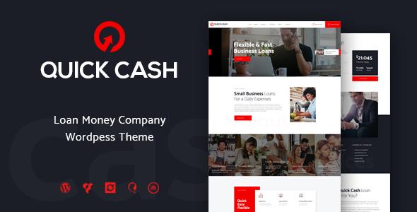 Quick Cash | Loan Company & Finance Advisor WordPress Theme