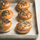 Freshly baked homemade buns with seeds for cooking burgers - PhotoDune Item for Sale
