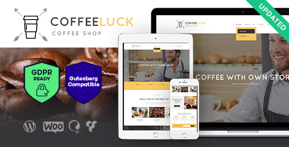 Coffee Luck | Cafe, Restaurant & Shop WordPress Theme
