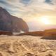 Rocks in sand deser - PhotoDune Item for Sale