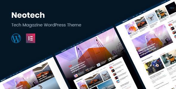 Neotech   Magazine Elementor WordPress Theme - News / Editorial Blog / Magazine