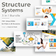 Structure System 3 in 1 Pitch Deck Bundle Keynote Template - GraphicRiver Item for Sale
