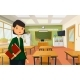 Woman Teacher at School - GraphicRiver Item for Sale