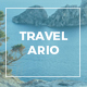 Travelario - Travel Google Slides Template - GraphicRiver Item for Sale