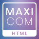 Maxicom - Internet Company HTML Template - ThemeForest Item for Sale