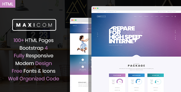 free html website templates for software company