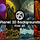 2D Game Planet Backgrounds Pixel Art - GraphicRiver Item for Sale