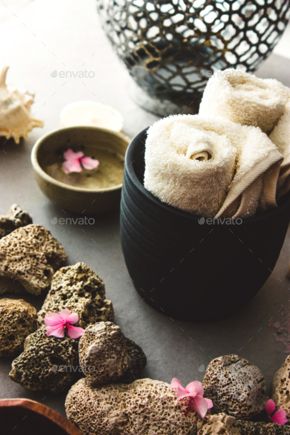 Spa setting - Stock Photo - Images
