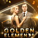 Golden Elements - VideoHive Item for Sale