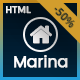 Marina - Real Estate HTML Template - ThemeForest Item for Sale