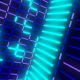 Neon Flickering Glowing Abstraction - VideoHive Item for Sale
