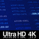 4K Looping Visualization Screen of Internet Data Processing - VideoHive Item for Sale