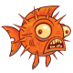 Wacky Cartoon Blowfish - GraphicRiver Item for Sale
