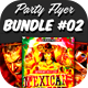 Party Flyer Bundle 02 - GraphicRiver Item for Sale