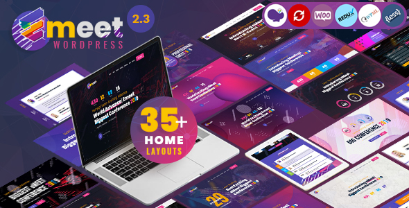 Event WordPress |  Emeet for Meetup, Conference and Event