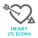 Heart & Love Mini Icon - GraphicRiver Item for Sale