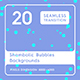 20 Shambolic Bubbles Backgrounds - 3DOcean Item for Sale