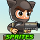 CatBoy 2D Game Sprites - GraphicRiver Item for Sale
