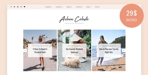 Aileen - A Personal Blog & Shop Theme - Blog / Magazine WordPress