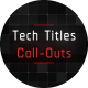 HUD Tech Titles & Call Outs - VideoHive Item for Sale