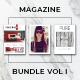 A4 & US Letter Magazine Bundle Vol I - GraphicRiver Item for Sale