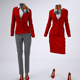 Airline Cabin Crew or Hotel Staff Uniforms Mock-Up - GraphicRiver Item for Sale