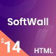 Softwall | Software SaaS Landing Page Template - ThemeForest Item for Sale